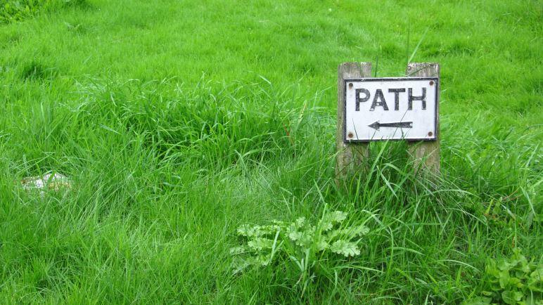 Path - das stimmt, aber mehr Details könnten helfen