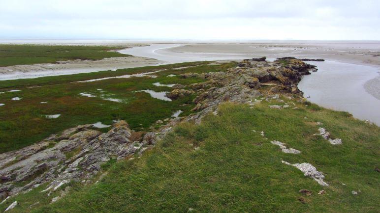 An der Südspitze des Humphrey Head, der in die Morecombe Bay ragt