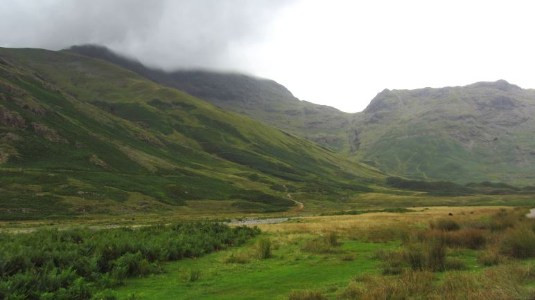 Im Tal hinter Great Langdale
