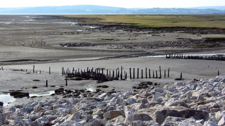 Das Wattenmeer der Morecombe Bay