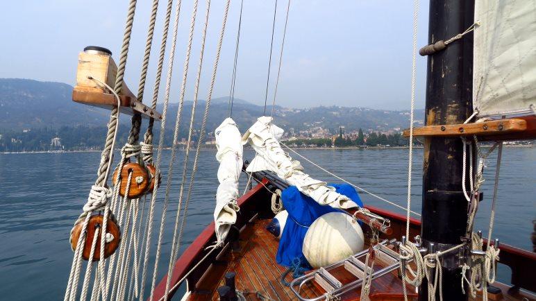 Mit der San Nicolò auf dem Gardasee
