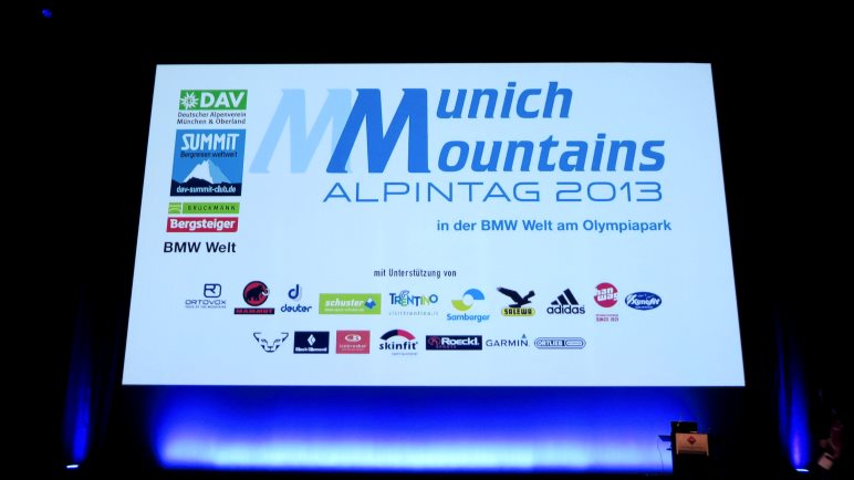 Munich Mountains 2013 - Im Auditorium
