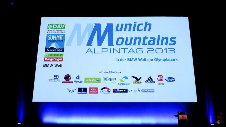 Munich Mountains 2013 - Im Auditorium
