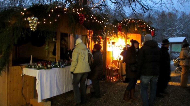 Weihnachtsmarkt im Ebersberger Forst
