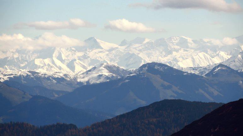 Grandioser Alpenblick vom Hinteren Sonnwendjoch