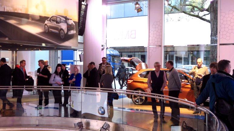 Präsentation der Kooperation von BMW und Salewa im BMW Showroom in München