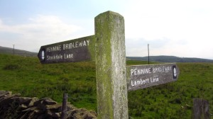 Auf dem Pennine Bridleway