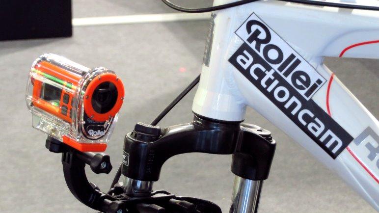 Die Einsteiger Actioncam S-30 Wifi von Rollei ist bereits auf dem Markt erhältlich