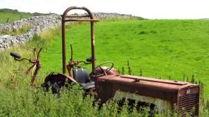 Dieser Traktor fährt wohl nicht mehr