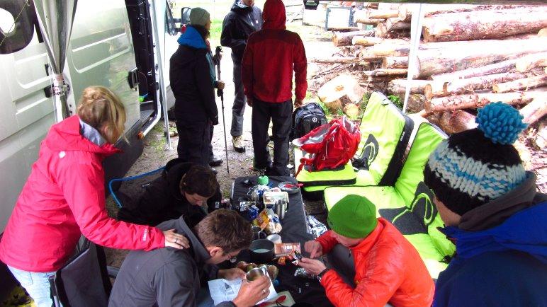 Bloggertreffen im Zillertal, stark verregnet
