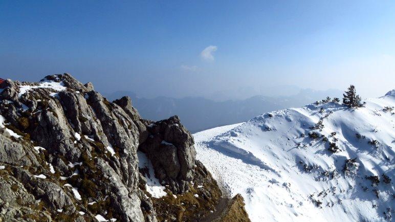 Am Gipfel des Hochfelln