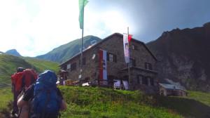 Ankunft auf der Gleiwitzer Hütte