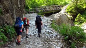 An der Brücke über den Wildbach
