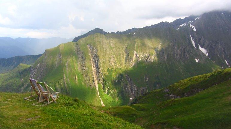 Ausblick von der Gleiwitzer Hütte