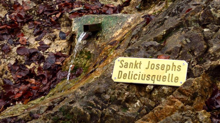 Die hatte ich mir spektakulärer vorgestellt: Die Sankt Josephs Deliciusquelle