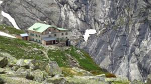 Blick zurück zur Greizer Hütte