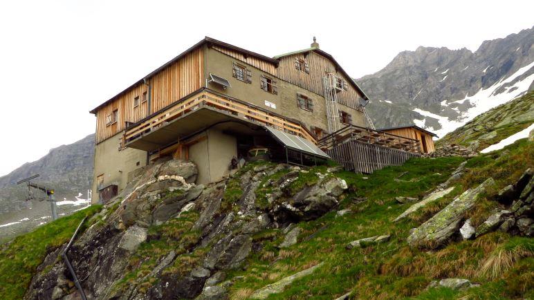 Die Greizer Hütte, unser Tagesziel