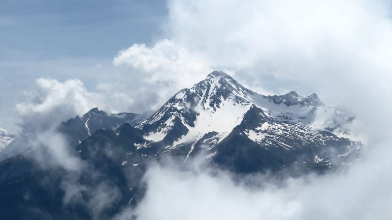 Der Blick in die Zillertaler Bergwelt