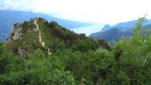 Der kurze Anstieg vom Ristoro zur Cima Mughera
