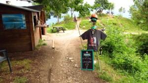 Der Kiosk Ristoro Mughera, die entspannteste Berghütte überhaupt