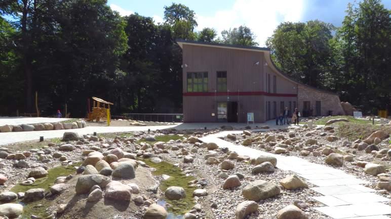 Das Informationszentrum am Bungsberg