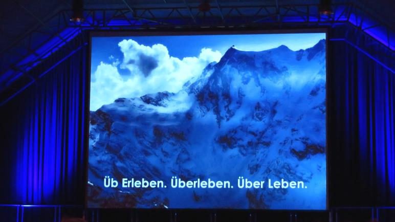 Reinhold Messner - Über Leben