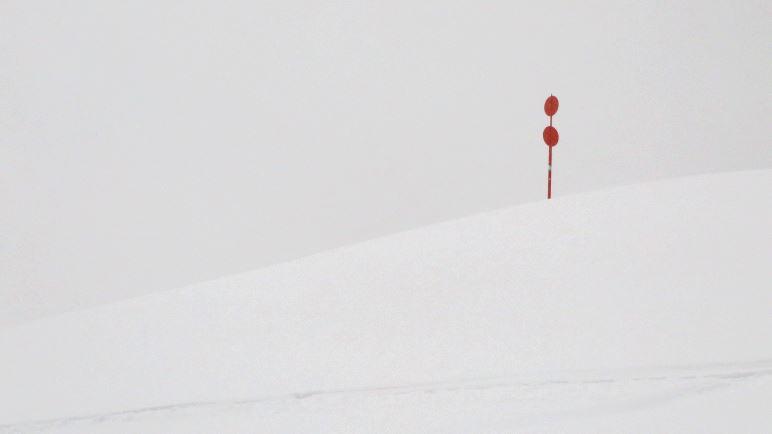 Ein Zeichen im Schnee