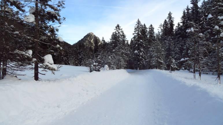 Schöner Blick zum Leonhardstein