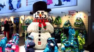 Der Lego-Schneemann