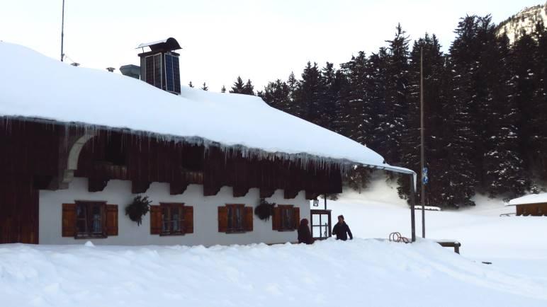 Hier soll es hingehen: Die Schwarzentennalm zwischen Bad Wiessee und Winterstube