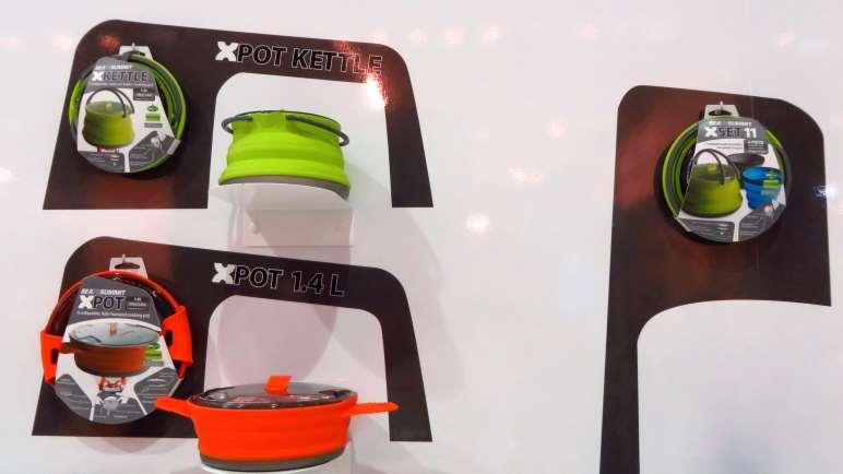 Bunt und platzsparend - Outdoor-Töpfe von SeaToSummit