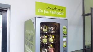 Der Smartwool-Sockenautomat - Sachen gibts. Aber es ist ja für einen guten Zweck