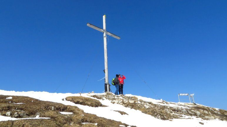 Das Jochberg Gipfelkreuz
