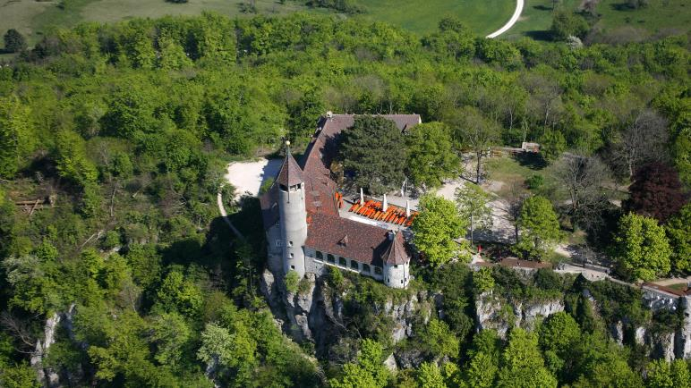 Die Burg Teck - Foto: Achim Mende