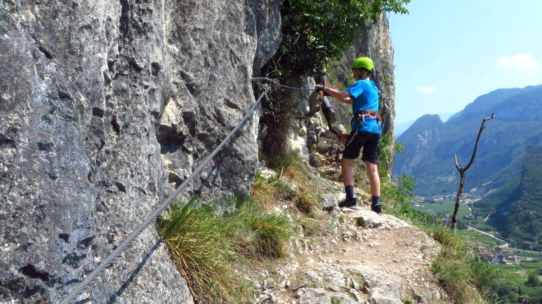 Klettersteigset Hund : Wilderhund klettersteig