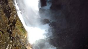 Am dritten Reinbach-Wasserfall