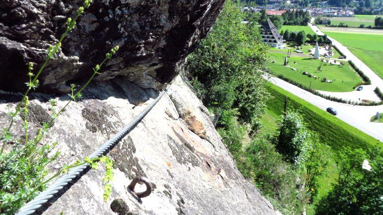 Klettersteigset Platte : Der kleine pursteinwand klettersteig auf den berg.de