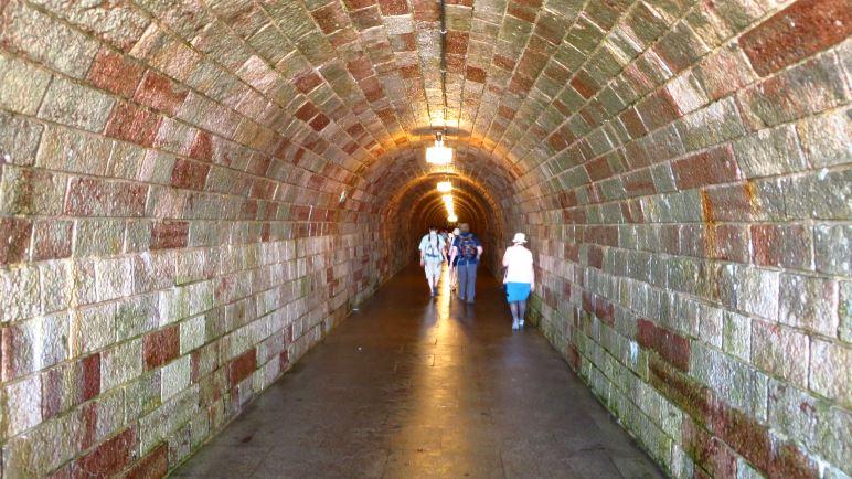 Im Tunnel zum Kehlsteinhaus