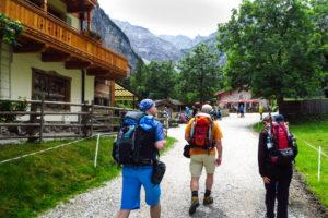 Der Start unserer Wanderung an der Gramaialm