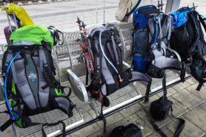 Alles bereit zur Abfahrt. Donnerstag morgens am Münchner Ostbahnhof