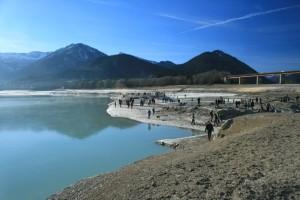 Wattwanderer in Oberbayern