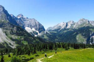 Im Abstieg von der Falkenhütte