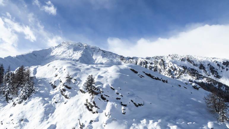 Perfekte Winterlandschaft auf dem Hahnl