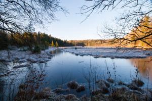 Der Hackensee bei Kleinhartpenning