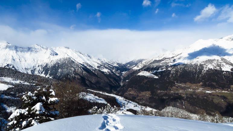 Großartiges Panorama auf dem Gipfel des Hahnl im Passeiertal in Südtirol