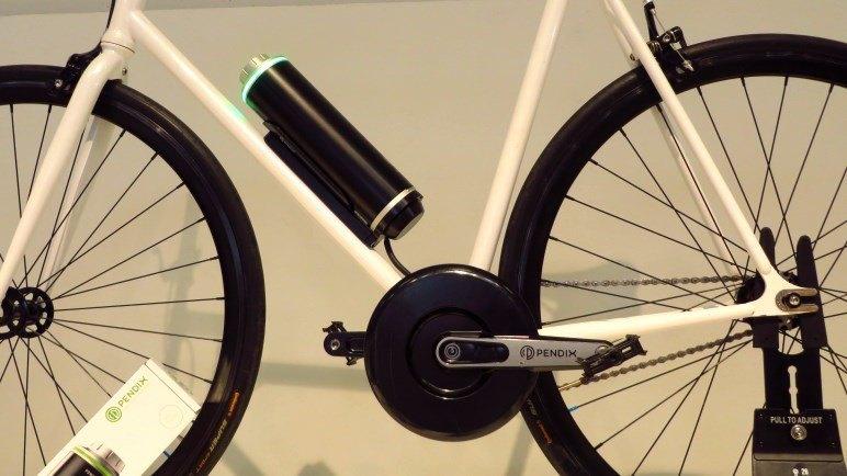 Pendix, der Nachrüstsatz, mit dem man aus seinem Radl ein E-Bike macht