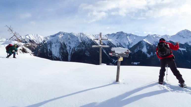 Fotomotive ohne Ende am Wetterkreuz am Pfarrer