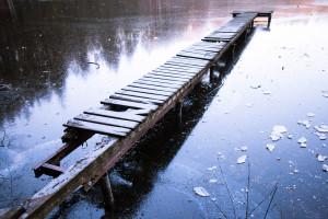 Am alten Steg am Hackensee