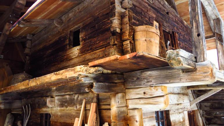 Ein alter Stadl am Wannserhof