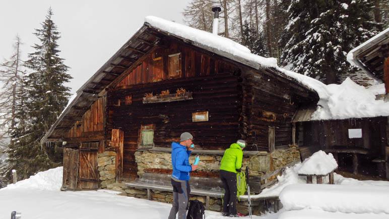 Mittagspause an der Seeberg-Alm auf gut 1700 Metern